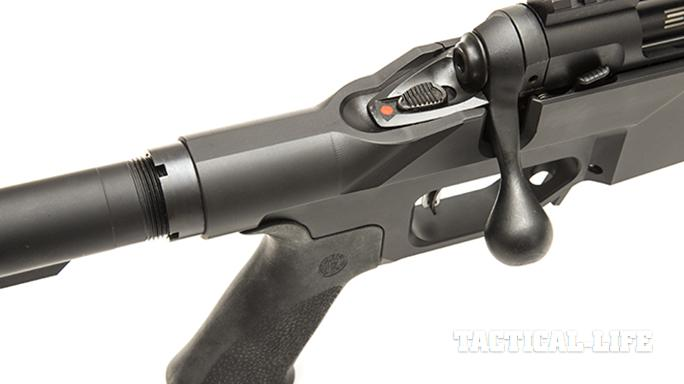 Savage 10 BA Stealth rifle bolt