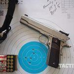 Sig 1911 Match Elite Stainless pistol target