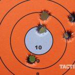 Sig P227 TACOPS pistol target