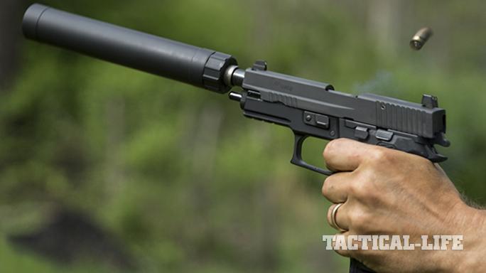Sig P227 TACOPS pistol test