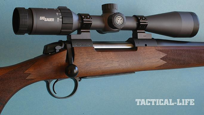 sig sauer whiskey5 riflescope bolt rifle