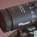 sig sauer whiskey5 riflescope closeup
