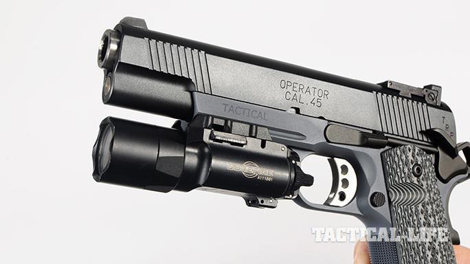 Springfield TRP Operator pistol rail