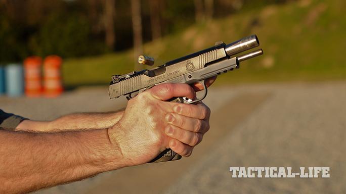 Springfield TRP Operator pistol test