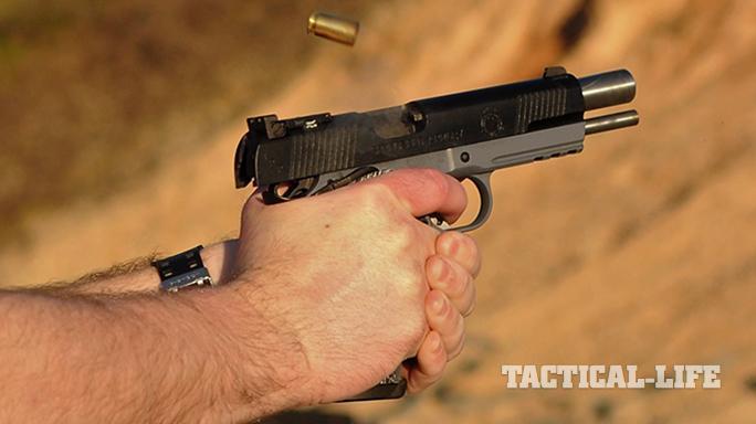 Springfield TRP Operator pistol bullet