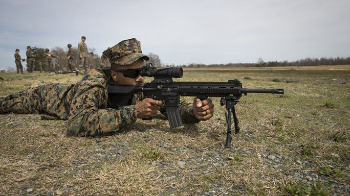 marines m27 rifle