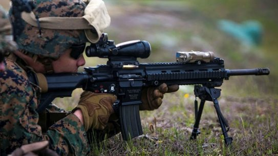 marines m27 infantry automatic rifle