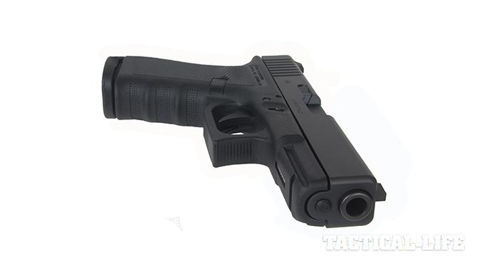 Vickers Tactical Glock 19 pistol side angle