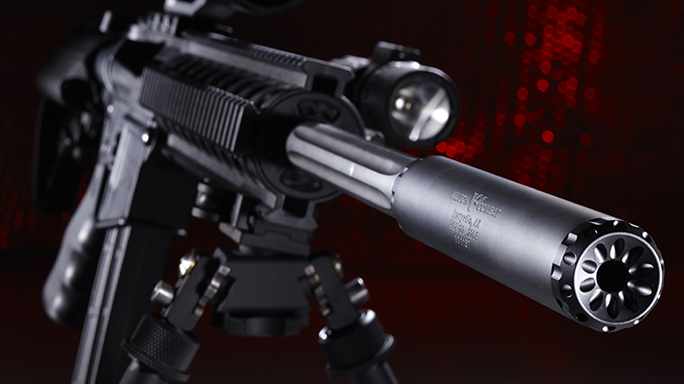 Wilson Combat WCR-22 new suppressor