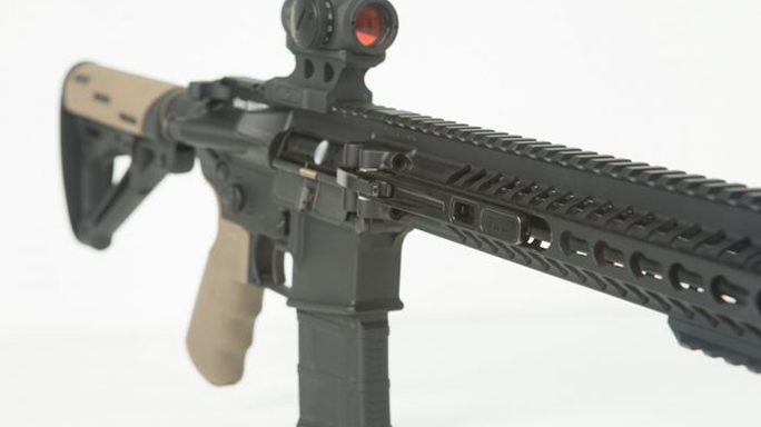 F&D Defense XAR Invicta rifle closeup angle