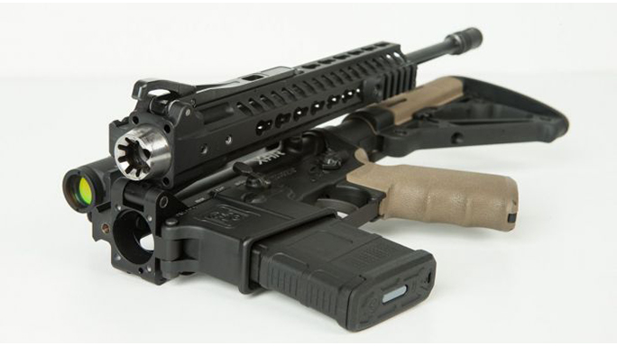 F&D Defense XAR Invicta rifle folded