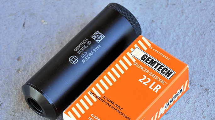 Gemtech aurora suppressor