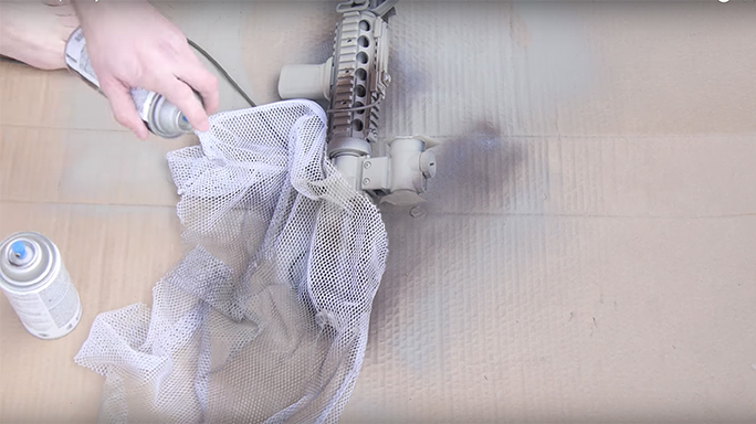 DIY Rifle Painting mesh