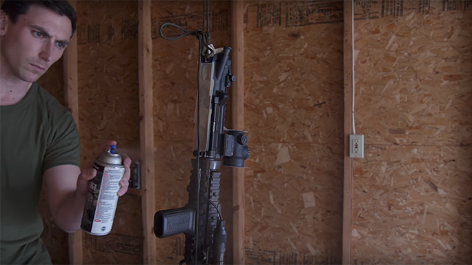 DIY Rifle Painting spray