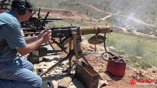Big Sandy Shoot 2017 M1917 Machine Gun