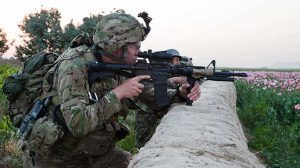 Interim Combat Service Rifle M4 carbine Afghanistan 7.62 rifle