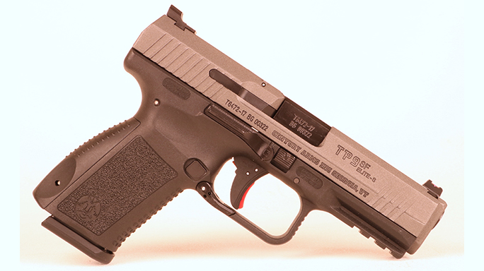 Police Handgun Sidearms Canik TP9 right