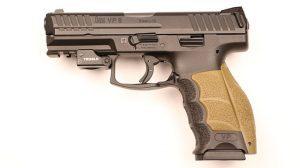Police Handgun Sidearms HK VP9 left