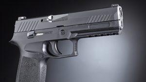 Police Handgun Sidearms Sig Sauer P320 right