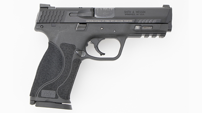 Police Handgun Sidearms Smith & Wesson M&P 2.0 right
