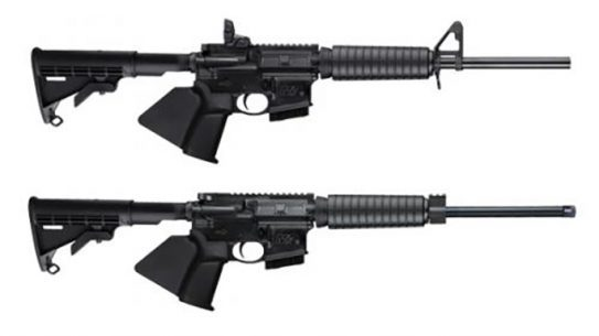 smith & wesson california-compliant m&p15 sport ii rifles