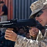 AMD-65 carbine marine firing