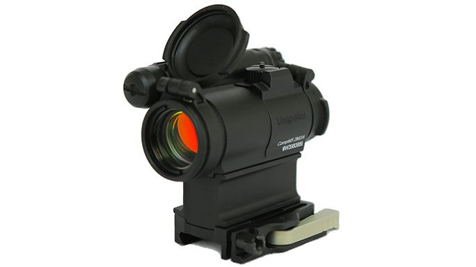 Aimpoint CompM5 with spacer and mount