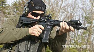 Bravo Company Carbine full auto test