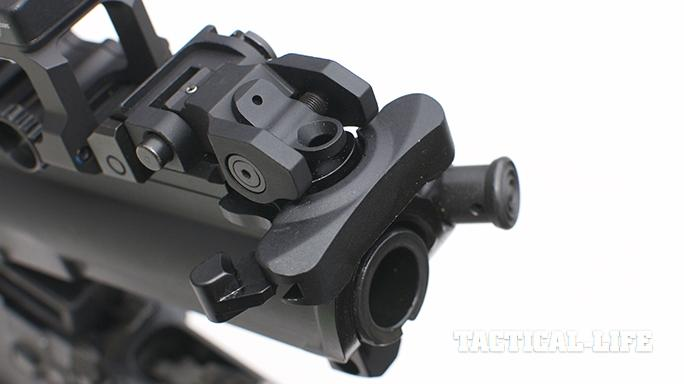 Bravo Company Carbine charging handle fence