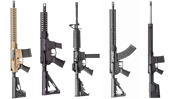 CMMG MK series rifles