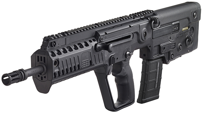 IWI Tavor X95 bullpups and takedown rifles