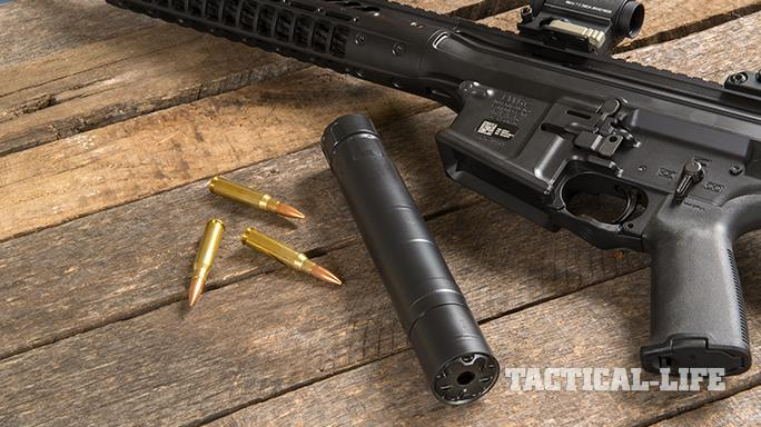 rugged surge 762 suppressor and rifle