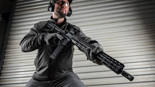 Sig Sauer M400 elite rifle angle