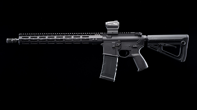 Sig Sauer's M400 Elite rifle left profile