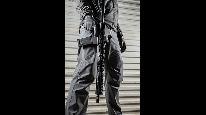 Sig Sauer's M400 Elite rifle carried