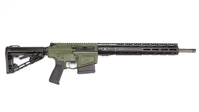 Wilson Combat Hunter Tactical rifle right profile