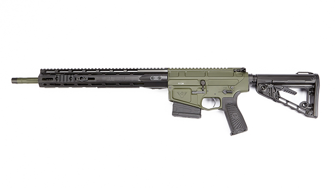 Wilson Combat Hunter Tactical rifle left profile