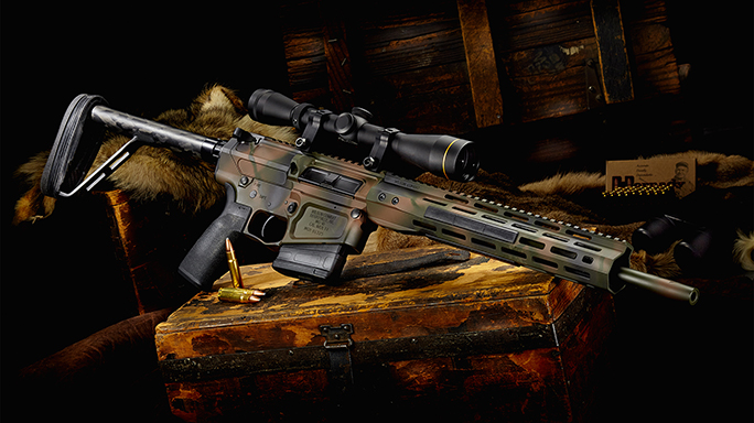 Wilson Combat Hunter Ultralight rifle right angle