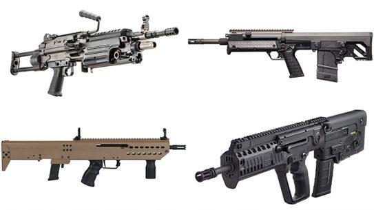 bullpups and takedown rifles