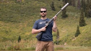 SilencerCo Maxim 50 Integrally Suppressed Muzzleloader lead