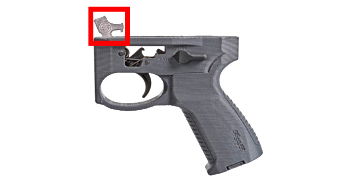 Mandatory Sig Sauer Recall two-stage trigger