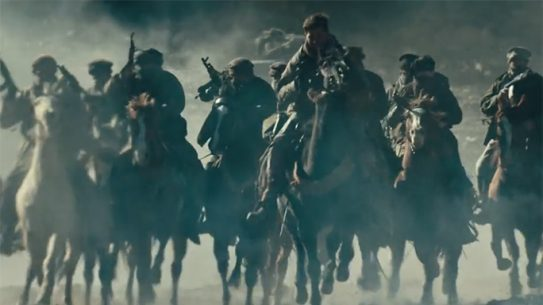 12 strong horse soldiers trailer