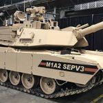 army v3 abrams tank left angle