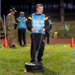 army physical fitness test sled dragging