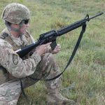 us army improved hot weather combat uniform loading rifle