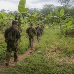 us army improved hot weather combat uniform walking in ghana