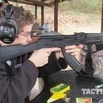 Arsenal SAM7R AK rifle range test