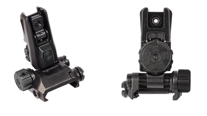 Magpul MBUS Pro LR backup iron sights