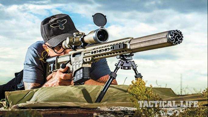 New Zealand Defense Force barrett MRAD suppressor attached