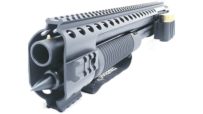 black aces tactical mossberg shockwave kit closeup